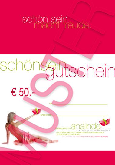 Gutschein € 50.-